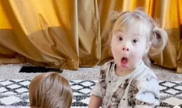 Κοριτσάκι με σύνδρομο Down δέχτηκε το πιο υπέροχο δώρο