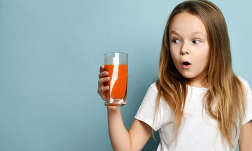 Πασχαλινό smoothie για παιδιά με καρότο και πορτοκάλι (vid)