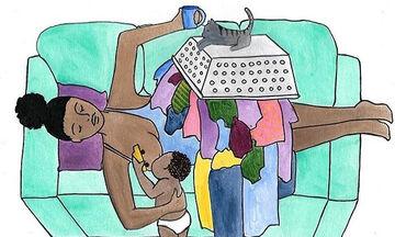 « Αγαπημένη  κουρασμένη μαμά, να ξέρεις ότι δεν είσαι μόνη…»