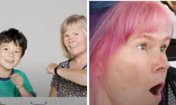 Παιδιά κάνουν extreme makeover στα μαλλιά των δασκάλων τους (vid)