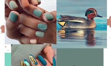 #Teal το χρώμα που είναι τάση για τα νύχια σου πήρε το όνομά του από ένα πτηνό!