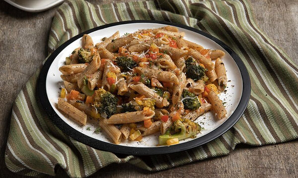 Πένες primavera - Πανεύκολο και νηστίσιμο φαγητό με λαχανικά