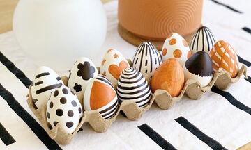 Πασχαλινά αυγά: 25 ιδέες για να τα βάψετε και να τα διακοσμήσετε
