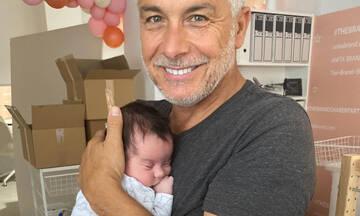Χάρης Χριστόπουλος: Οι νέες φώτο με τον γιο του εντυπωσιάζουν