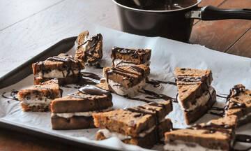Σοκολατένια sandwiches έτοιμα σε 20 λεπτά