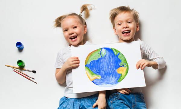 Παγκόσμια Ημέρα Γης: Δραστηριότητες για μικρά και μεγάλα παιδιά
