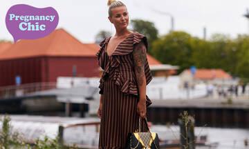 Tα πιο κομψά φορέματα για το Πάσχα για όσες διανύουν του πρώτους μήνες της εγκυμοσύνης τους