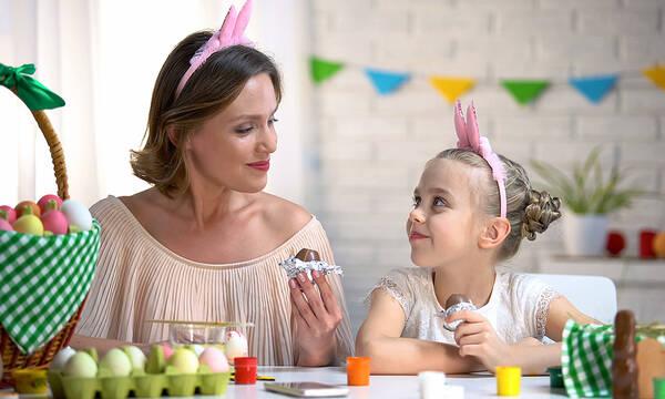 Πέντε tips για να μην πάρετε εσείς και τα παιδιά κιλά το Πάσχα