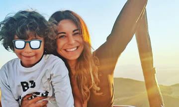 Ειρήνη Κολιδά: Οι σπάνιες φωτογραφίες με τον γιο της (pics)