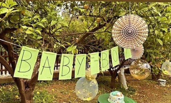 Γνωστή Ελληνίδα ηθοποιός έκανε το πιο alternative baby shower πάρτι (pics)