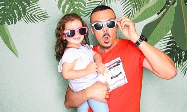 Νίκος Βουρλιώτης: Η κόρη του είχε γενέθλια - Δείτε την φανταστική τούρτα