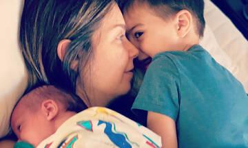 Κατερίνα Μουτσάτσου: Οι νέες φωτογραφίες των παιδιών της είναι απίθανες