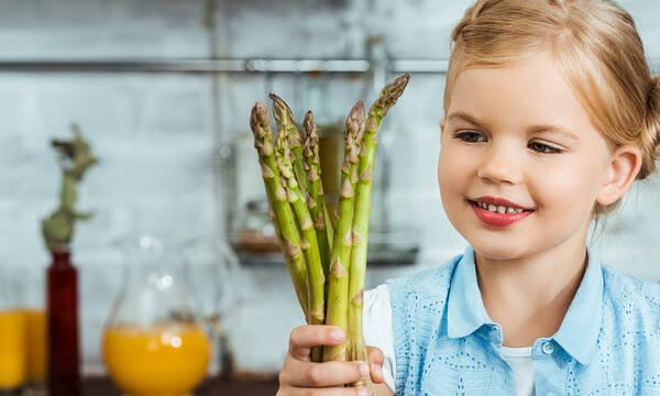 Σπαράγγια: Επτά λόγοι για να τα εντάξετε στη διατροφή των παιδιών