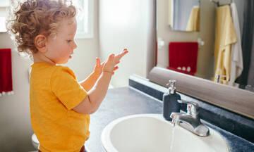 Παγκόσμια Ημέρα Υγιεινής Χεριών: Mαθαίνοντας τα παιδιά να πλένουν σωστά τα χέρια τους