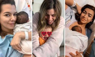 Γιορτή της Μητέρας: Ποιες διάσημες Ελληνίδες γιορτάζουν φέτος για πρώτη φορά;