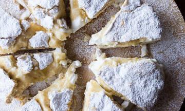 Κέικ με κρέμα λεμονιού - Ιδιαίτερο και πεντανόστιμο
