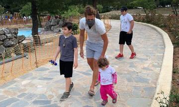 Survivor: Κ. Παπαδόπουλος-Η 1η βόλτα με τα παιδιά του μετά την αποχώρησή του
