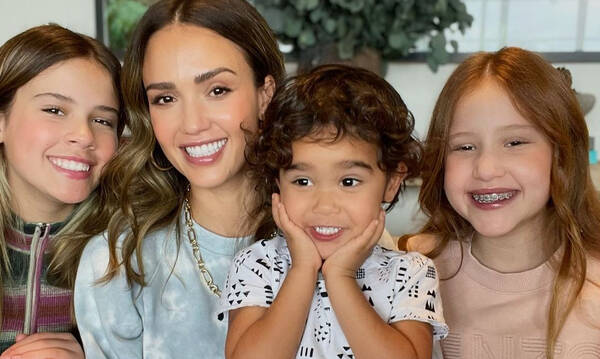 Jessica Alba: Δείτε την όμορφη οικογένειά της - Οι κόρες της μεγάλωσαν πολύ