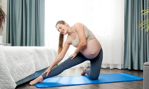Πότε απαγορεύουμε στην έγκυο να γυμναστεί;