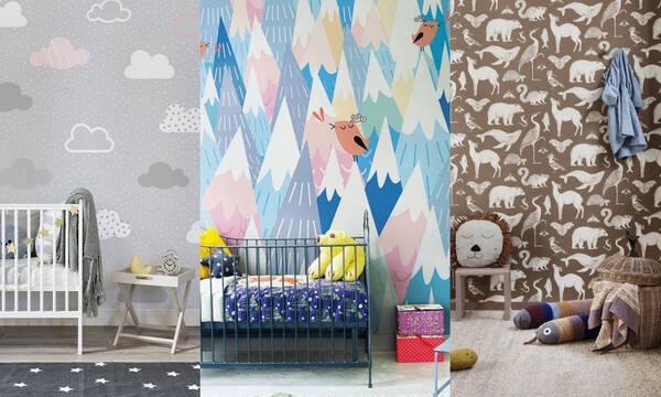 Βρεφικό δωμάτιο: Διακοσμήστε τους τοίχους με τα πιο ευφάνταστα σχέδια
