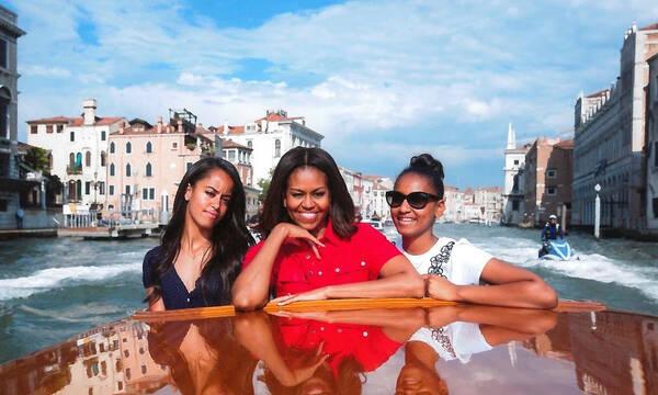 Γιατί φοβάται η Michelle Obama για τις κόρες της