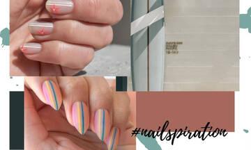 Τα ριγέ νύχια είναι όμορφα και πολύ εύκολα και θα σου το αποδείξουμε!