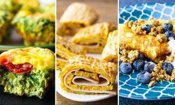 Μαμά και διατροφή: Εννέα συνταγές για ομελέτα ιδανικές για απώλεια βάρους