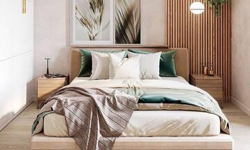 Είκοσι έξυπνες ιδέες για να δείξει η κρεβατοκάμαρά σας πιο μεγάλη