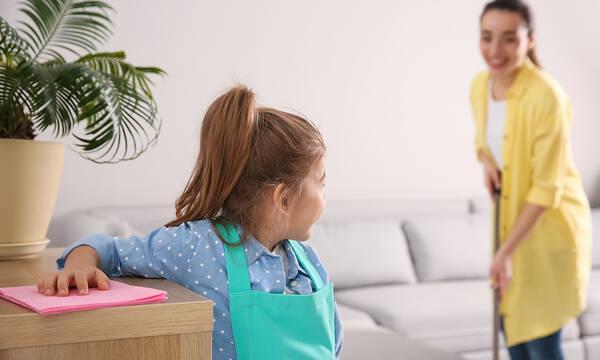Καθαριστικά κόλπα για πολυάσχολες μαμάδες