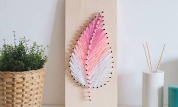 String art: Η μανία των απανταχού DIYers ξεπερνά κάθε φαντασία και ομορφαίνει τον χώρο σου (video)