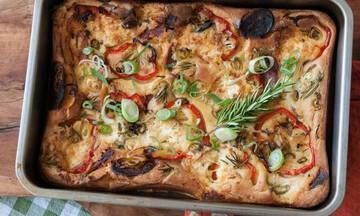 Γρήγορη πίτα με τυρί κρέμα - Ιδανική λύση για όλη την οικογένεια