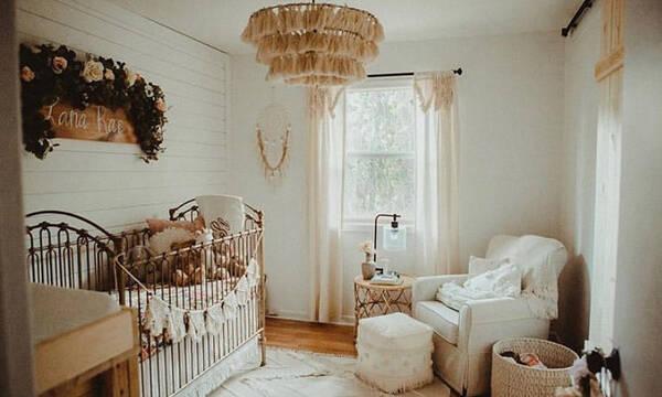 Βρεφικό δωμάτιο σε boho στιλ - Πάρτε ιδέες
