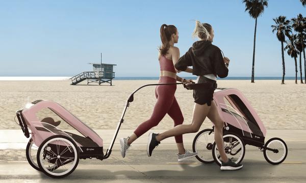 Η CYBEX παρουσιάζει τη σειρά SPORT που είναι ειδικά σχεδιασμένη για άθληση με το παιδί