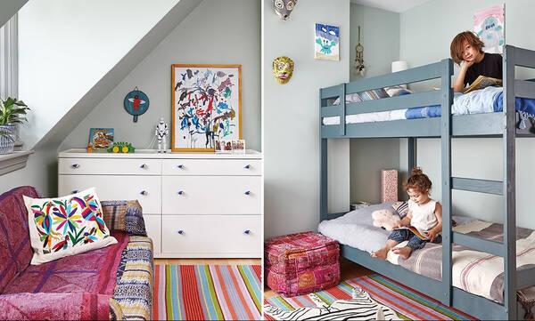 Κοινό παιδικό δωμάτιο: Έξυπνες ιδέες για να το διακοσμήσετε