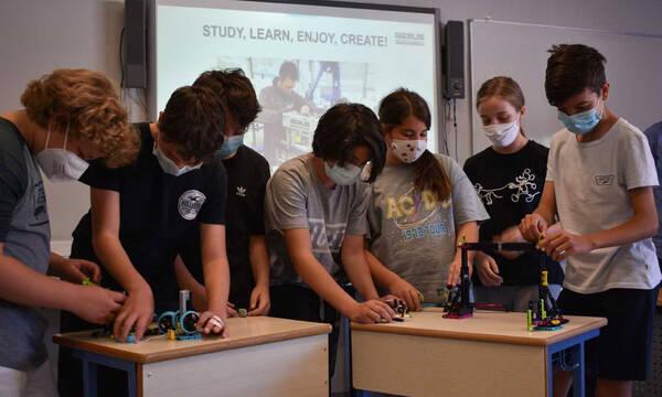 Καινοτόμος συνεργασία Εκπαιδευτηρίων Δούκα και Gizelis Robotics