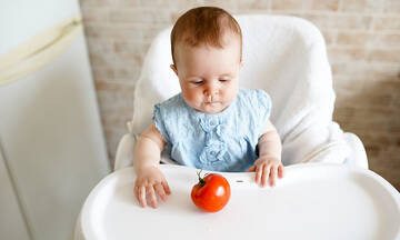 Πότε μπορεί το μωρό να φάει ντομάτα;