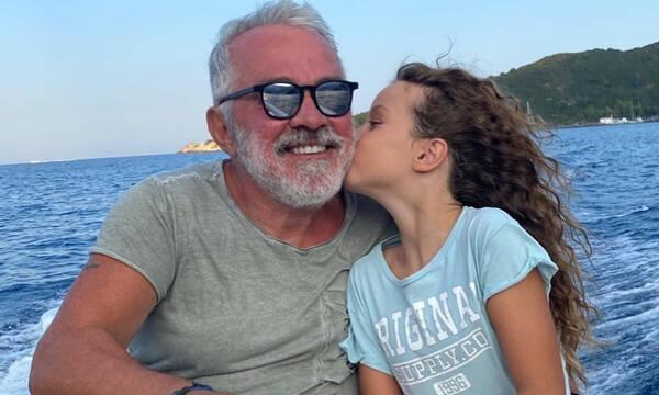 Γιώργος Λύρας: Μετά από καιρό μας δείχνει την κόρη του Ηλέκτρα