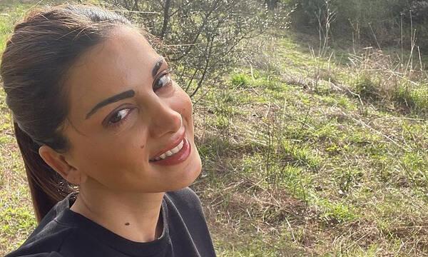 Σταματίνα Τσιμτσιλή: Μας καλημέρισε με αυτή τη φώτο με τον γιο της