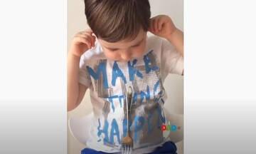 Πειράματα για παιδιά: Το πείραμα με το πιρούνι και την κλωστή