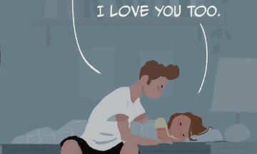 «Μπαμπά, τι σημαίνει σ' αγαπώ;»