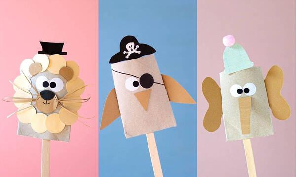 Χειροτεχνίες για παιδιά: Ευφάνταστες κατασκευές με ρολό από χαρτί υγείας