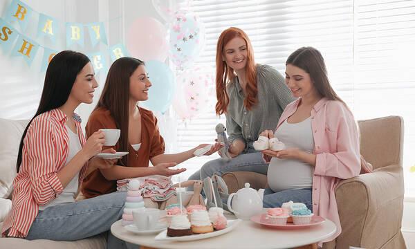 Υπέροχα γλυκά και μπισκότα για το baby shower party