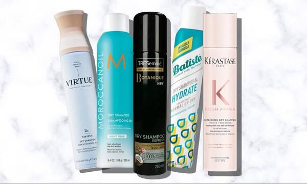 10 ξηρά σαμπουάν που θα σώσουν τα μαλλιά σου αυτό το ΣΚ!