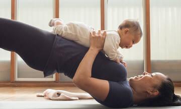 Ασκήσεις yoga για μαμάδες και μωρά - Ποια τα οφέλη