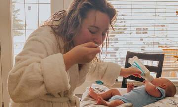 Το post αυτής της μαμάς θα αγγίξει πολλές γυναίκες με νεογέννητο στο σπίτι