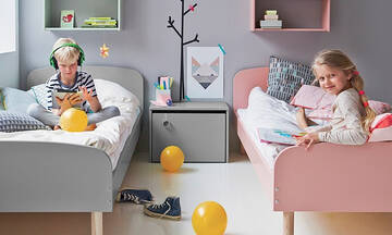 Παιδικό δωμάτιο: Διακοσμήστε το με απίθανα σχέδια και χρώματα