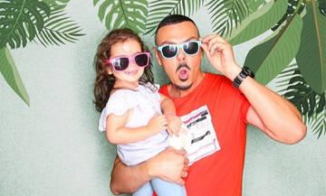 Νίκος Βουρλιώτης: Δείτε πόσο μεγάλωσε η κόρη του - Η νέα φώτο μετά από καιρό