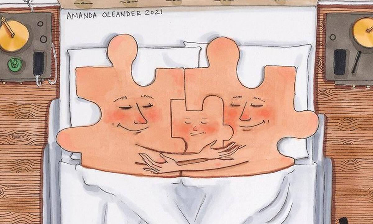 Επτά σκίτσα που αποτυπώνουν το μεγαλείο της οικογένειας (pics)