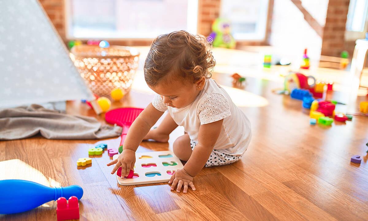 Τα πέντε καλύτερα παιχνίδια για αγόρια και κορίτσια 2 ετών