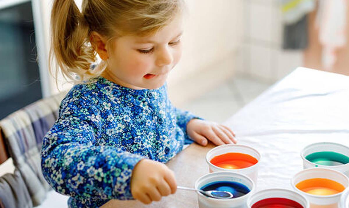 Πειράματα για παιδιά: Τρία πειράματα με χρώμα ζαχαροπλαστικής (vid)